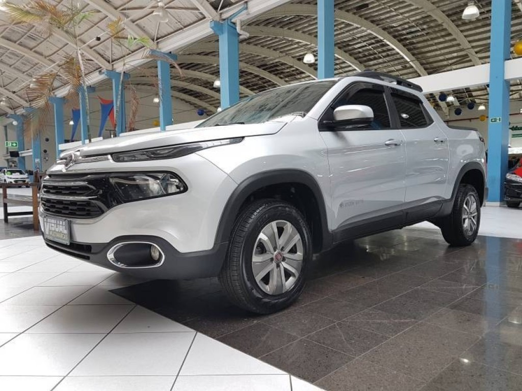 FIAT TORO OPENING EDITION 1.8 FLEX 6M AUTOMÁTICO 4P - 2017 - PRATA