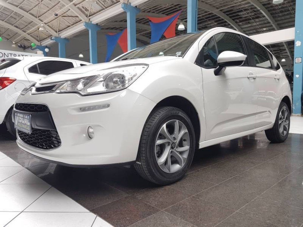 CITROËN C3 TENDENCE 1.5 FLEX 4P - 2015 - BRANCO