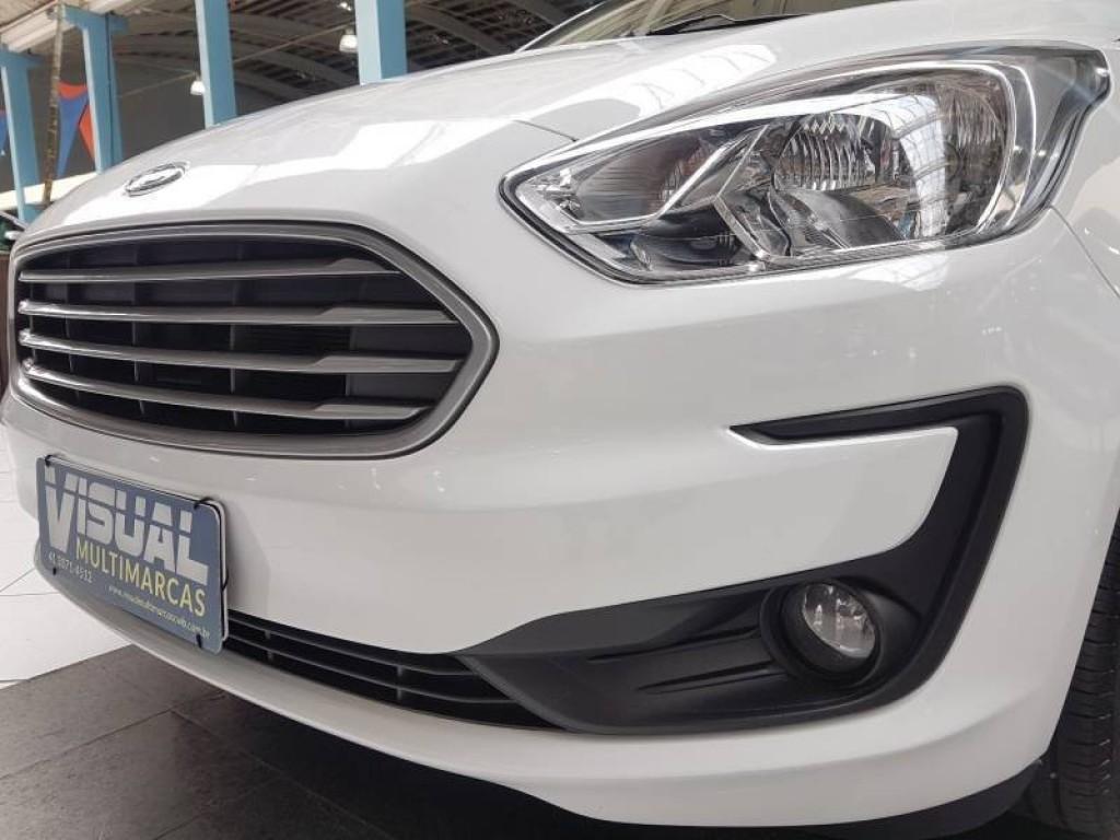 Imagem do veículo FORD KA SE 1.5 FLEX 4P AUTOMÁTICO 6M - 2019 - BRANCO