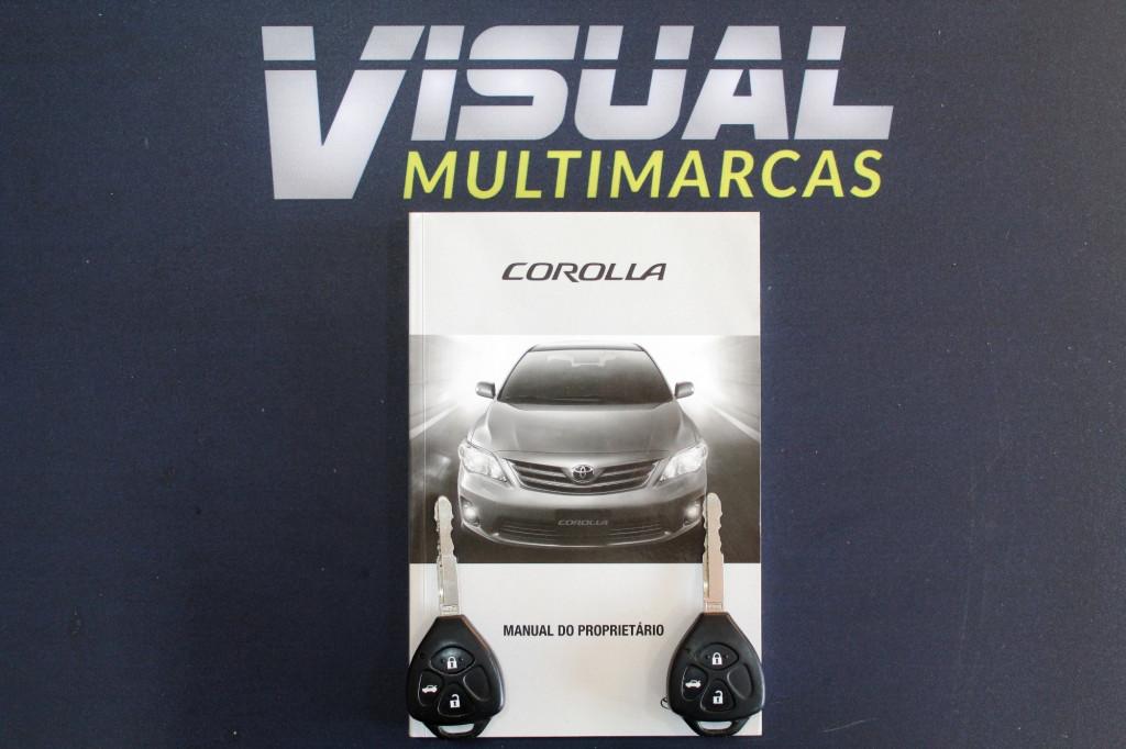 Imagem do veículo TOYOTA COROLLA 2.0 ALTIS FLEX AUTOMATICO - 2012 - CINZA