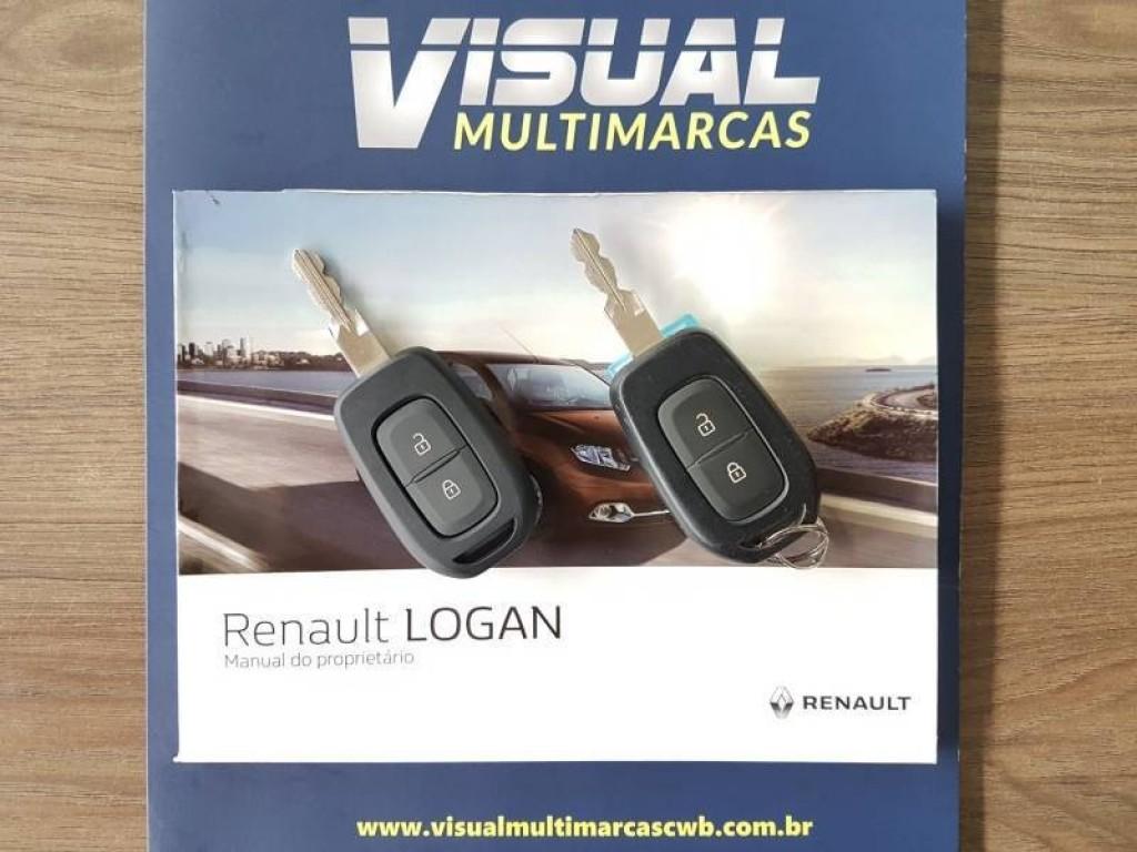 Imagem do veículo RENAULT LOGAN EXPRESSION 1.6 FLEX 4P MANUAL - 2017 - CINZA