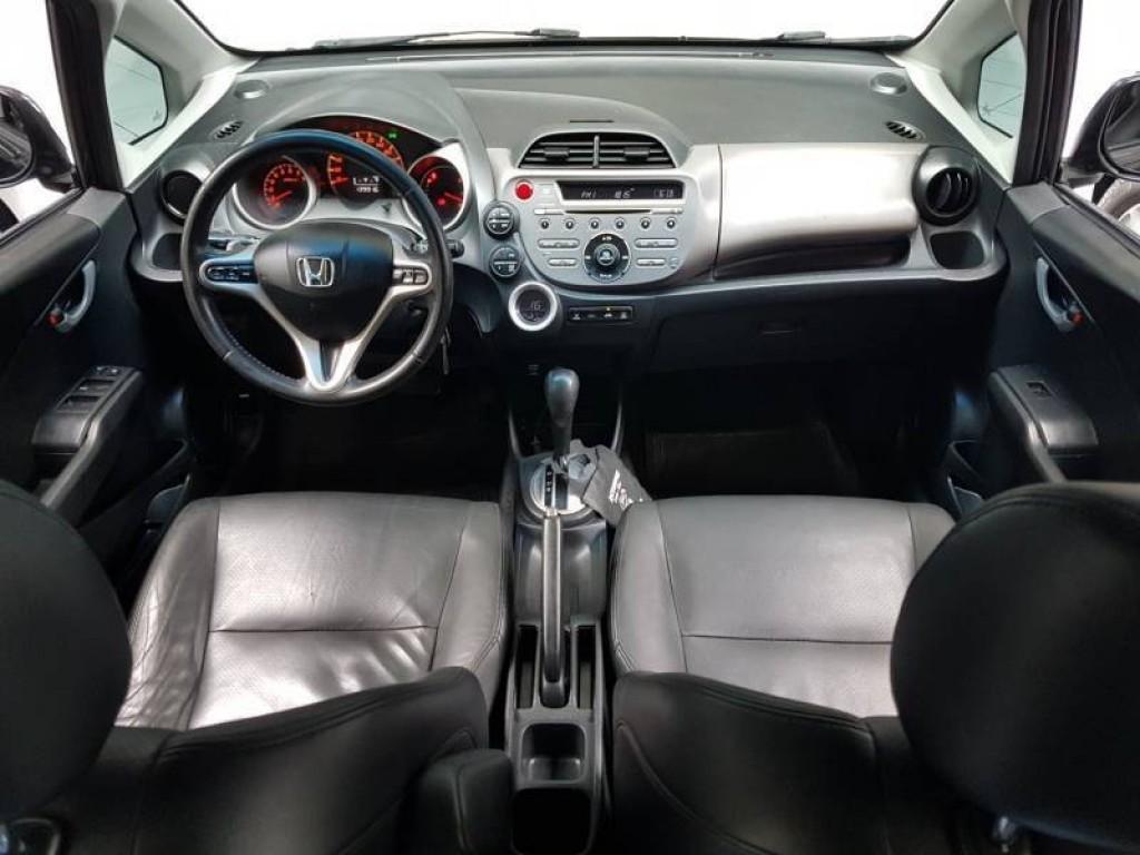 Imagem do veículo HONDA FIT EXL 1.5 FLEX 4P AUTOMÁTICO 5M - 2010 - PRETO