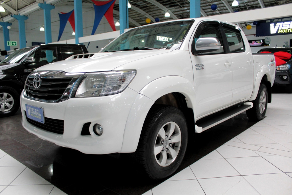 TOYOTA HILUX SRV CD 3.0 4X4 DIESEL 4P MANUAL - 2014 - BRANCO