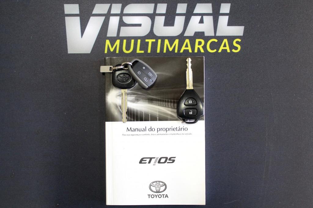 Imagem do veículo TOYOTA ETIOS 1.5 XS FLEX AUTOMÁTICO - 2018 - CINZA