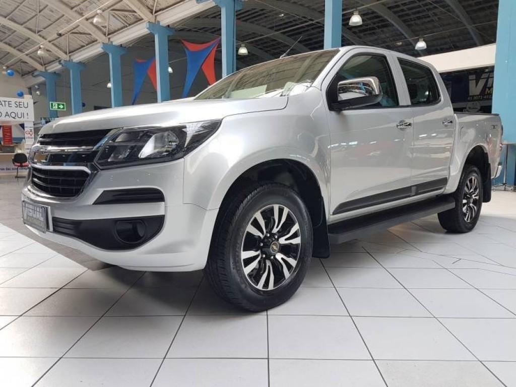 GM S10 LS CD 2.8 4X4 DIESEL 6M 4P - 2017 - PRATA