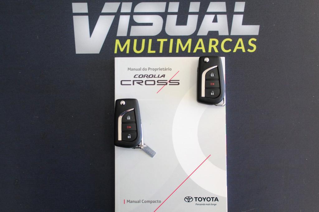 Imagem do veículo TOYOTA COROLLA CROSS 2.0 XR FLEX AUTOMÁTICO CVT 10M - 2022 -  BRANCO PÉROLA ** 0 KM ** UNIDADE DISPONÍVEL A PRONTA ENTREGA