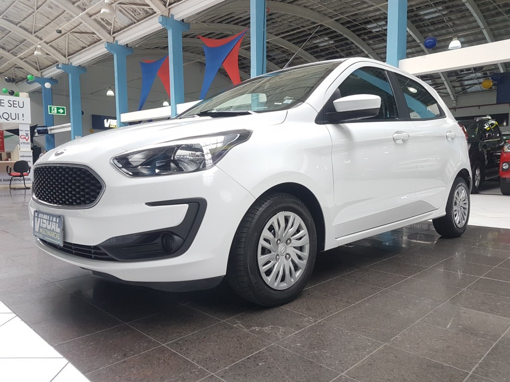 FORD KA HATCH SE 1.0 FLEX 4P MANUAL - 2019 - BRANCO