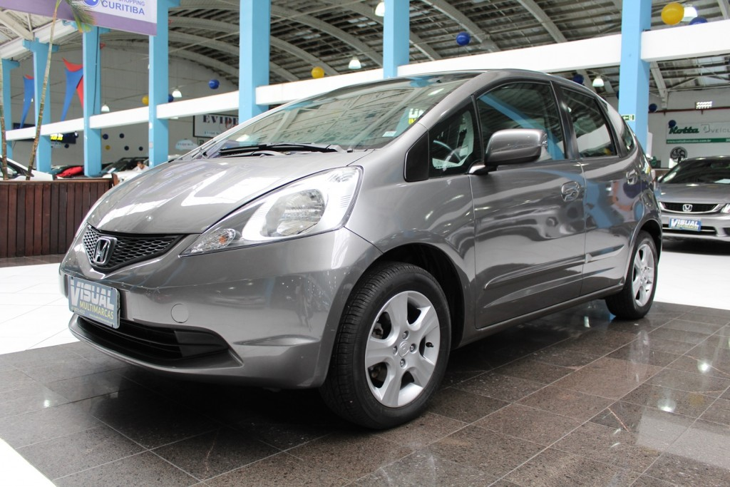HONDA FIT LXL 1.4  FLEX 4P MANUAL - 2009 - CINZA