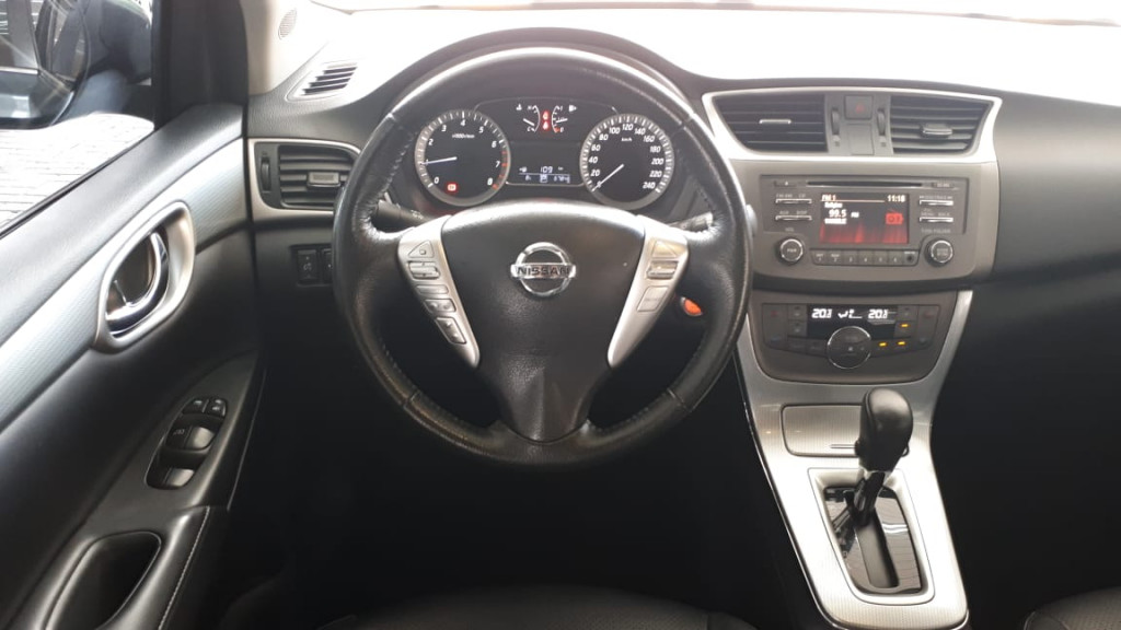 Imagem do veículo SENTRA FLEXSTART AUTOMÁTICO CVT ÚNICO DONO! PERICIADO!