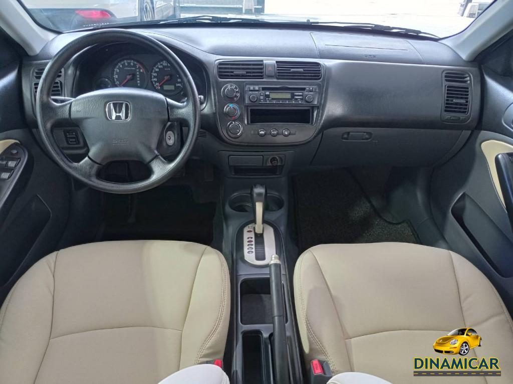 Imagem do veículo HONDA CIVIC 1.7 AUTOMÁTICO + BANCOS EM COURO CARAMELO!