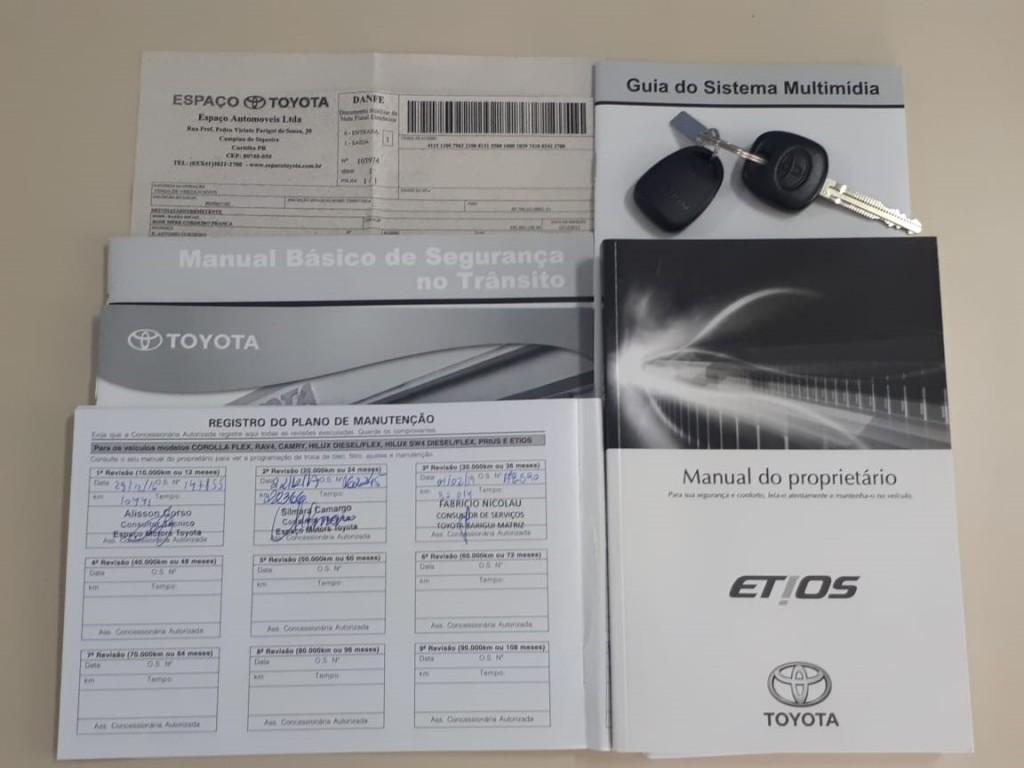 Imagem do veículo ETIOS SEDAN 1.5 COMPLETO COM APENAS 37.000 KM + KIT MULTIMÍDIA!