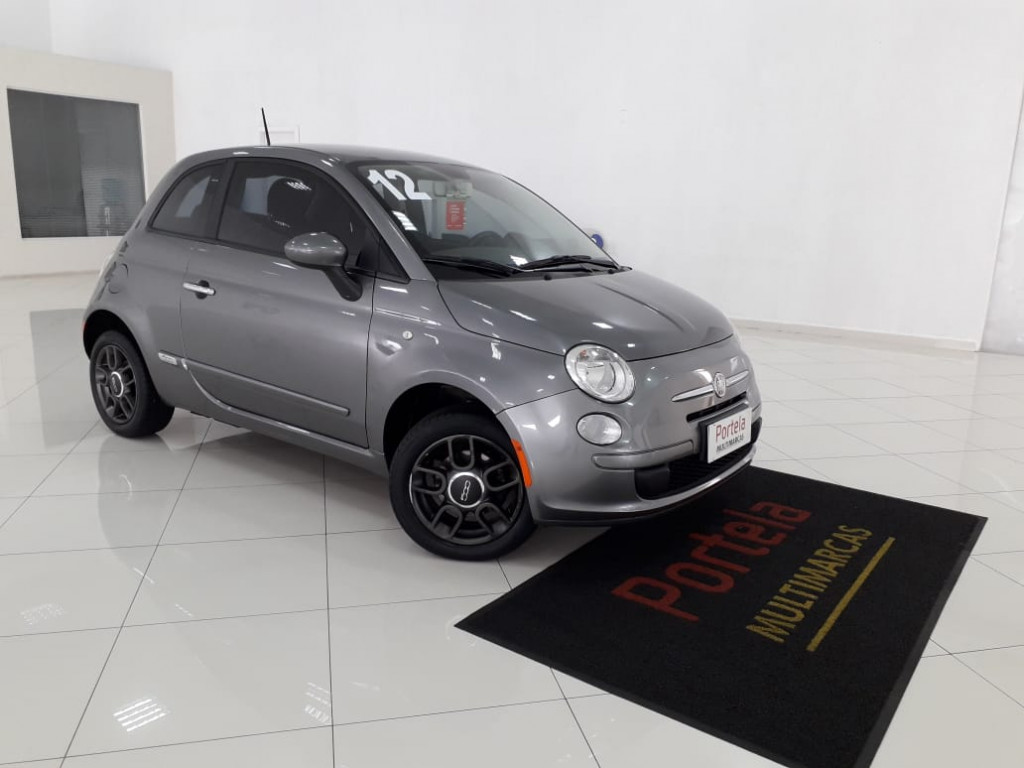 FIAT 500 CULT 1.4 16V FLEX 2P MANUAL 2012!