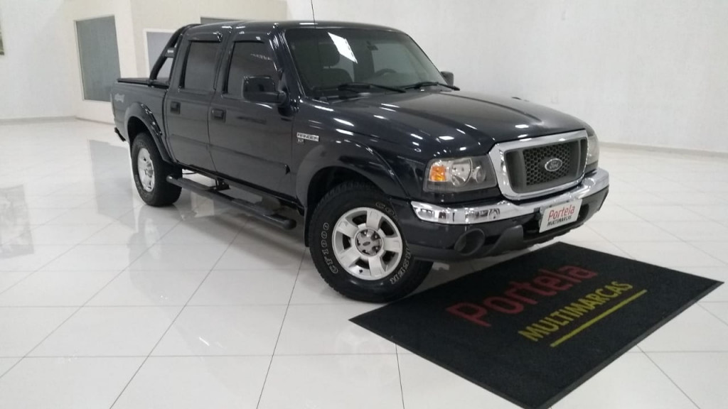 FORD RANGER 3.0 XLT 4X4 CD 16V TURBO ELETRONIC DIESEL 4P MANUAL