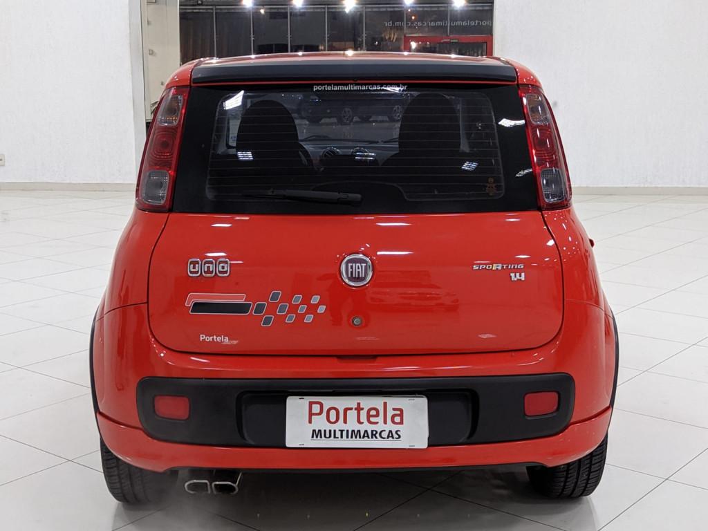 Imagem do veículo FIAT UNO 1.4 EVO SPORTING 8V FLEX 4P MANUAL