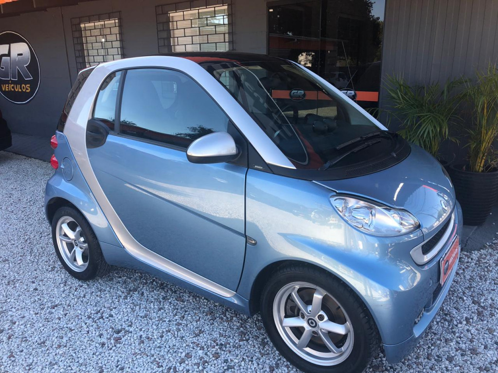 SMART FORTWO 1.0 COUPÊ TURBO 12V GASOLINA 2P AUTOMÁTICO