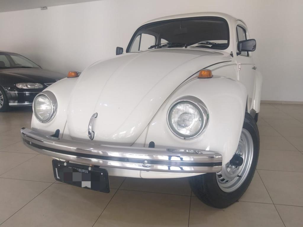 FUSCA 1300 PLACA PRETA