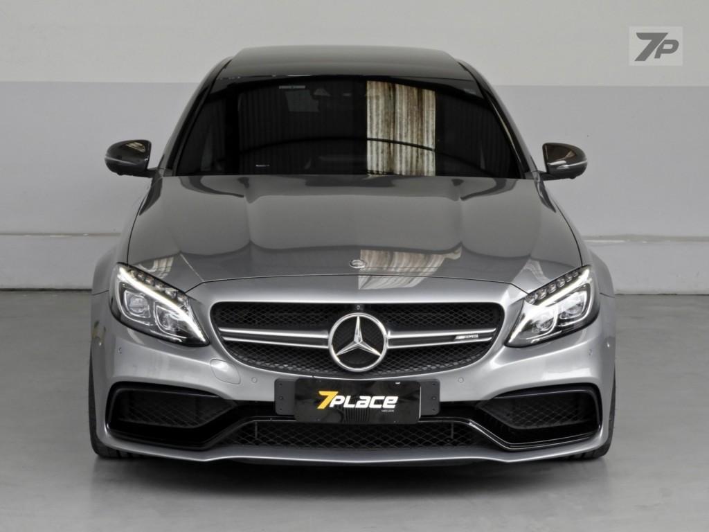 Imagem do veículo Mercedes Benz C63S AMG 4.0 V8 Bi-turbo 4P Automático