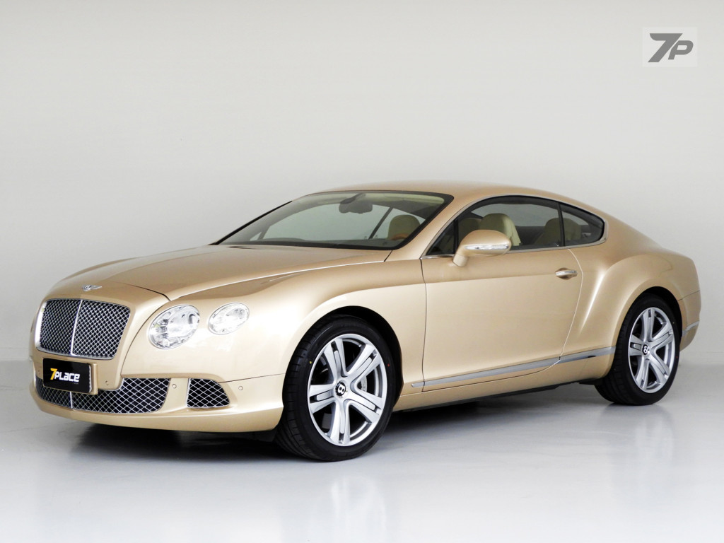 Bentley Continental 6 0 W12 Turbo Gasolina Em Curitiba 7place