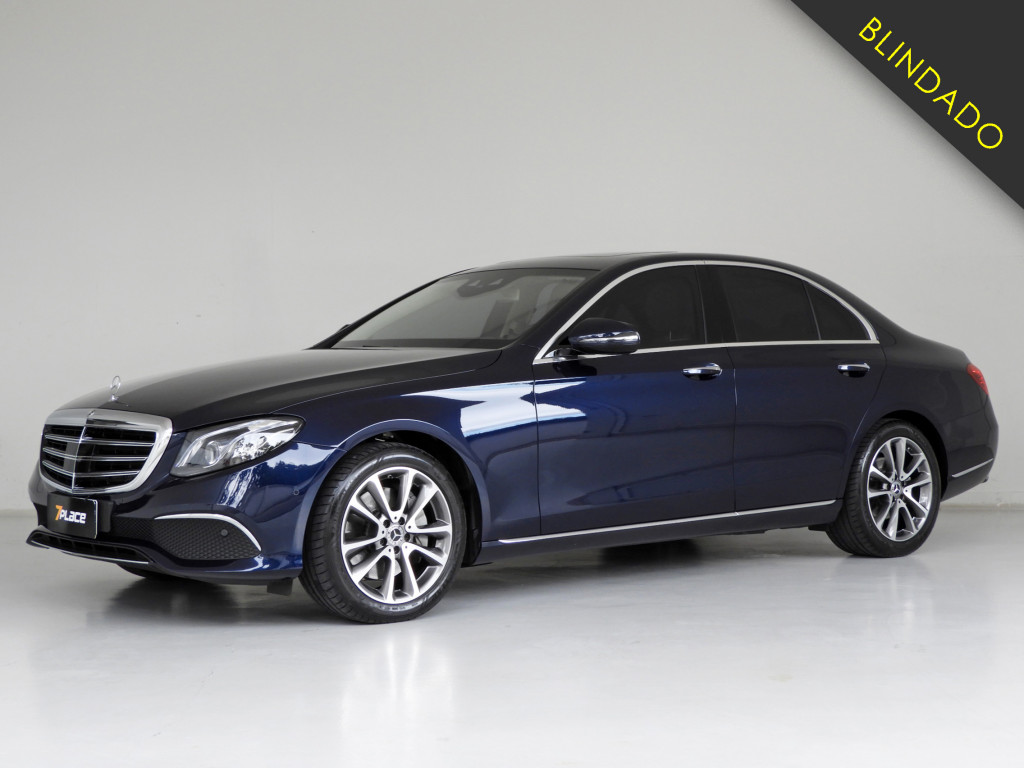 MERCEDES-BENZ E 300 2.0 CGI GASOLINA EXCLUSIVE 9G-TRONIC BLINDADO
