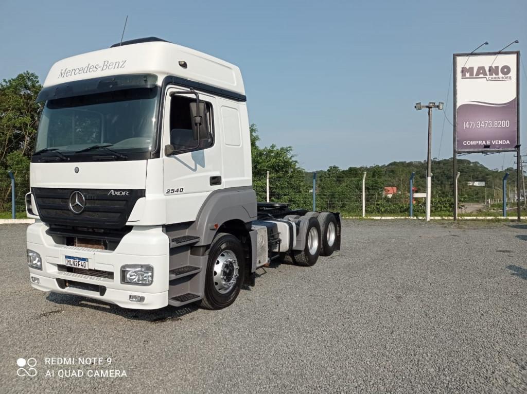 Mercedes-Benz Axor 2540 S 6x2 2P (E5)