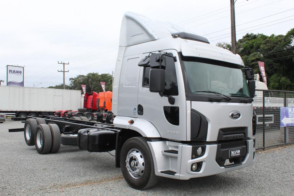 Ford Cargo 2429 Leito  6x2 - 2016
