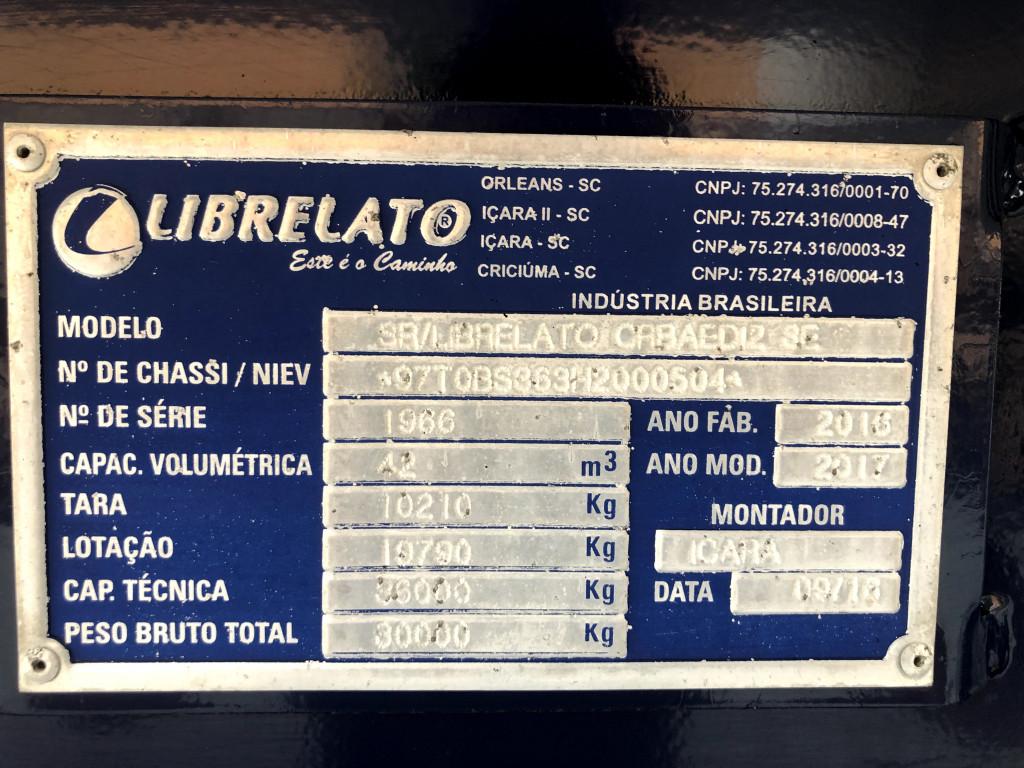 Imagem do veículo Carreta Vanderleia Basculante - Librelato  2017