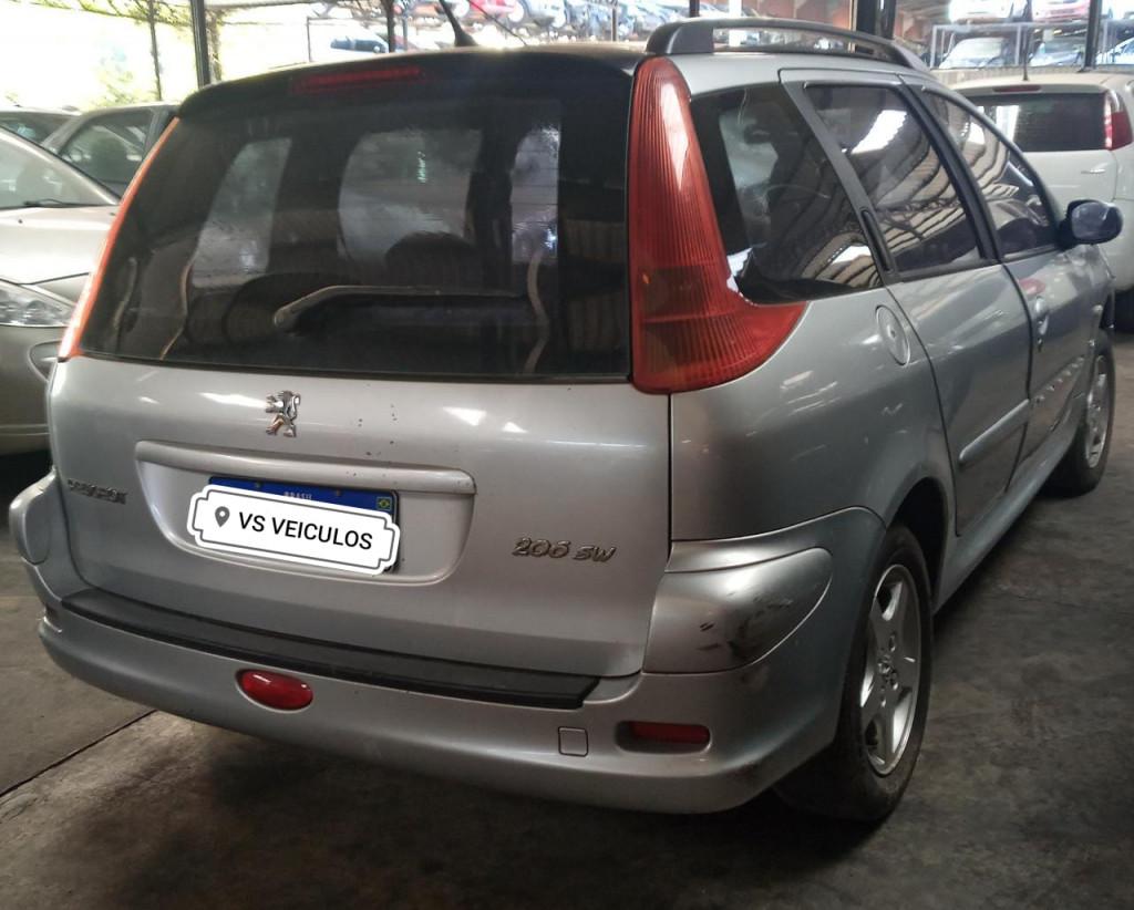 Imagem do veículo PEUGEOT 206 1.6 SW 16V FLEX 4P MANUAL(REM)