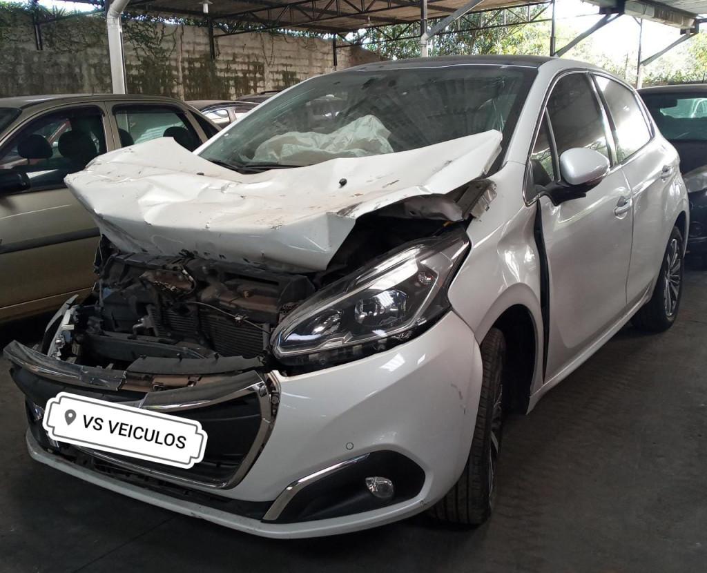 Imagem do veículo PEUGEOT 208 1.6 griffe 16v flex 4p automatico