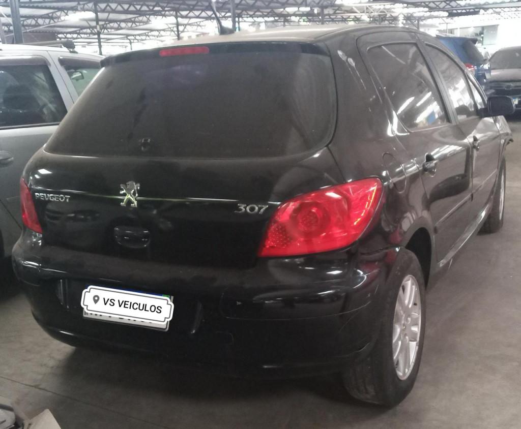 PEUGEOT 307 2.0 16V FLEX 4P AUTOMÁTICO