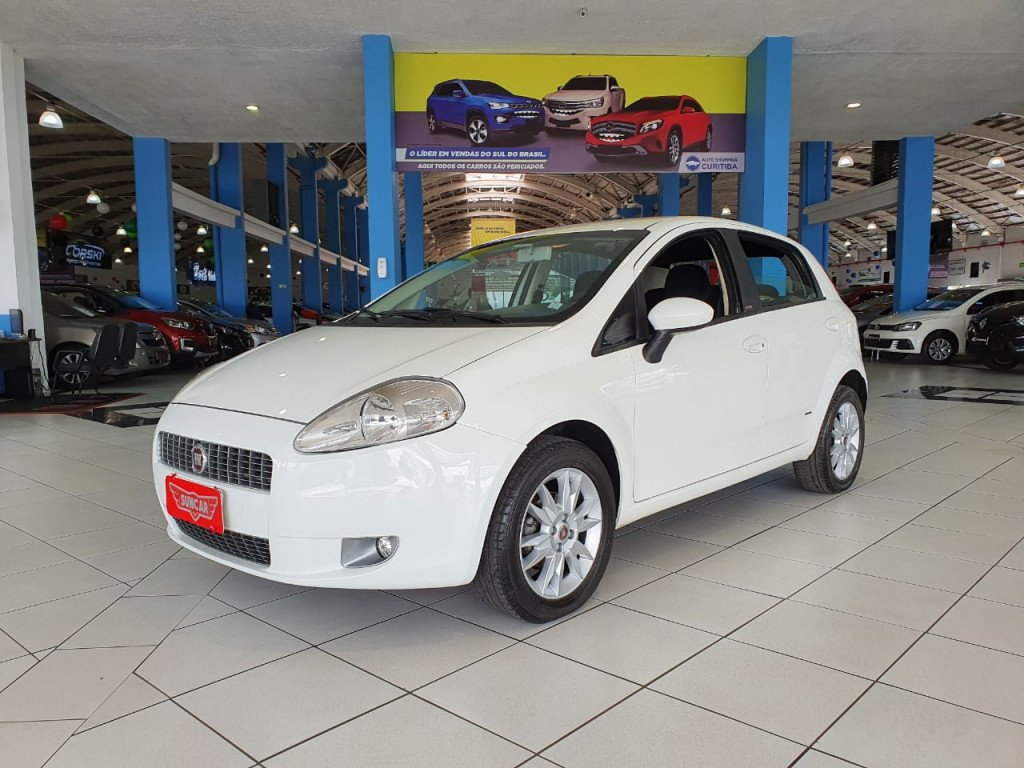 FIAT PUNTO 1.6 essence 16v flex 4p manual