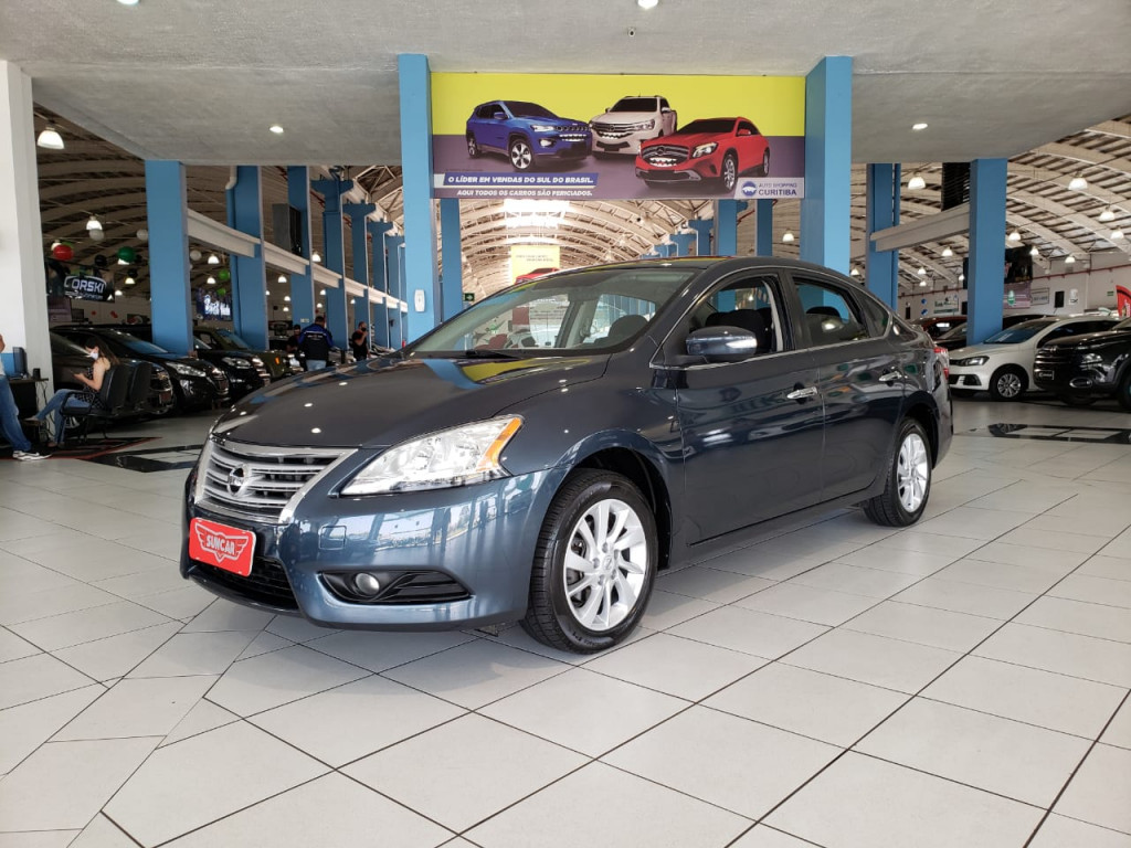 NISSAN SENTRA 2.0 s 16v flex 4p manual