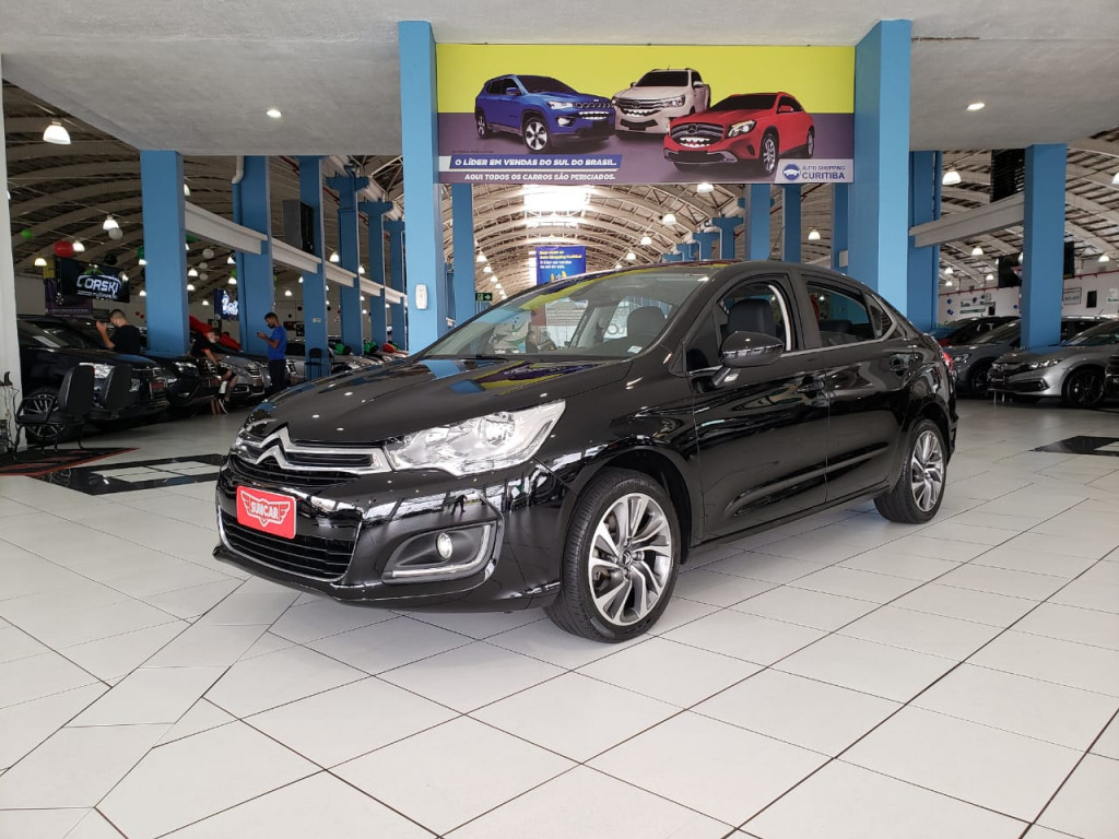 CITROËN C4 LOUNGE 1.6 TENDANCE 16V TURBO FLEX 4P AUTOMÁTICO