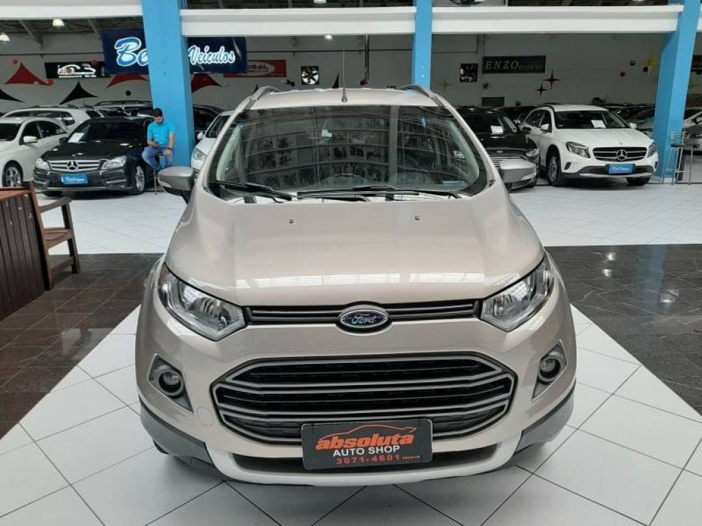 FORD ECOSPORT FREESTYLE 1.6 4P FLEX MANUAL