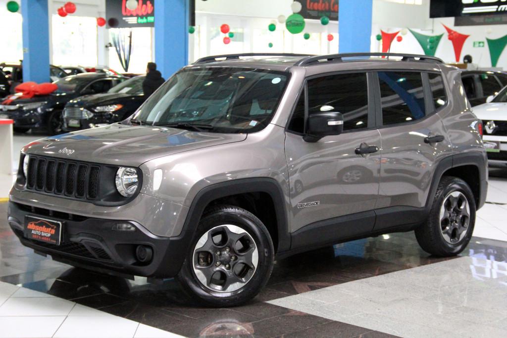 Jeep Renegade 1 8 Flex Sport Em Curitiba Auto Shopping Curitiba