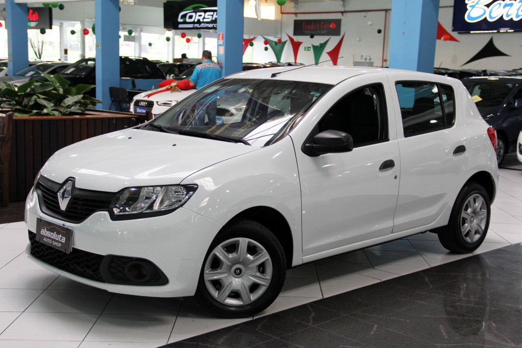 Imagem do veículo RENAULT SANDERO 1.0 AUTHENTIQUE 16V FLEX 4P MANUAL
