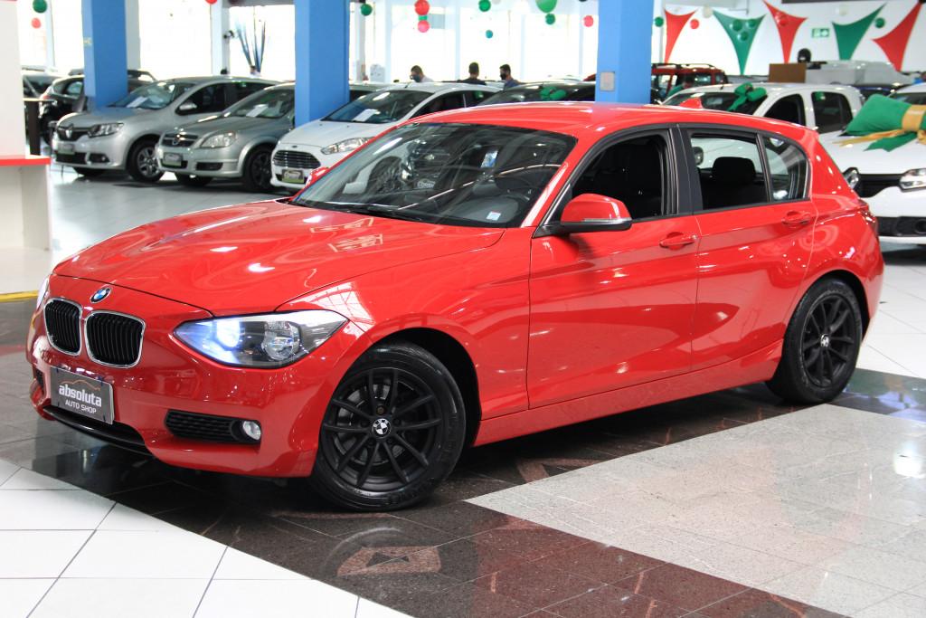 BMW 116i 1.6 16V TURBO GASOLINA 4P AUTOMÁTICO