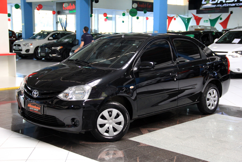 TOYOTA ETIOS 1.5 X STANDARD SEDAN 16V FLEX 4P MANUAL