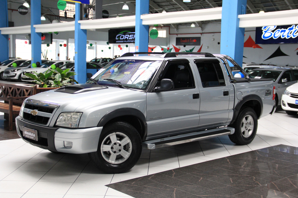 CHEVROLET S10 2.4 MPFI ADVANTAGE 4X2 CD 8V GASOLINA 4P MANUAL
