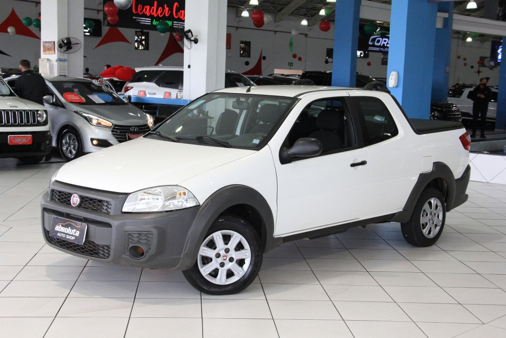 FIAT STRADA 1.4 MPI HARD WORKING CD 8V FLEX 3P MANUAL