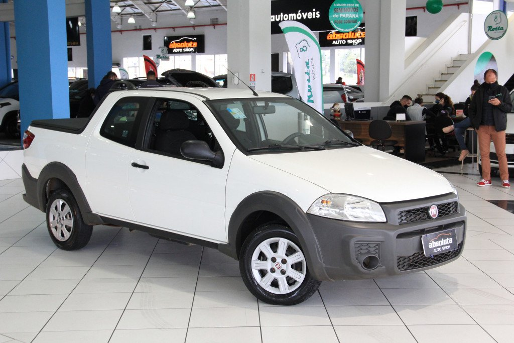 Imagem do veículo FIAT STRADA 1.4 MPI HARD WORKING CD 8V FLEX 3P MANUAL