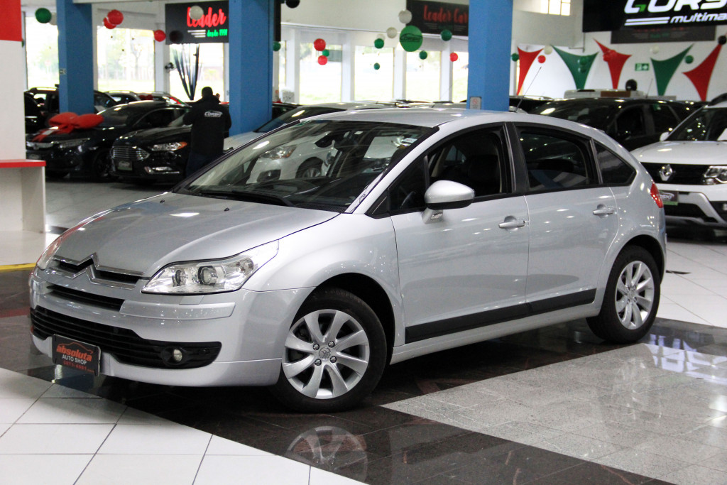 CITROËN C4 2.0 EXCLUSIVE 16V GASOLINA 4P MANUAL