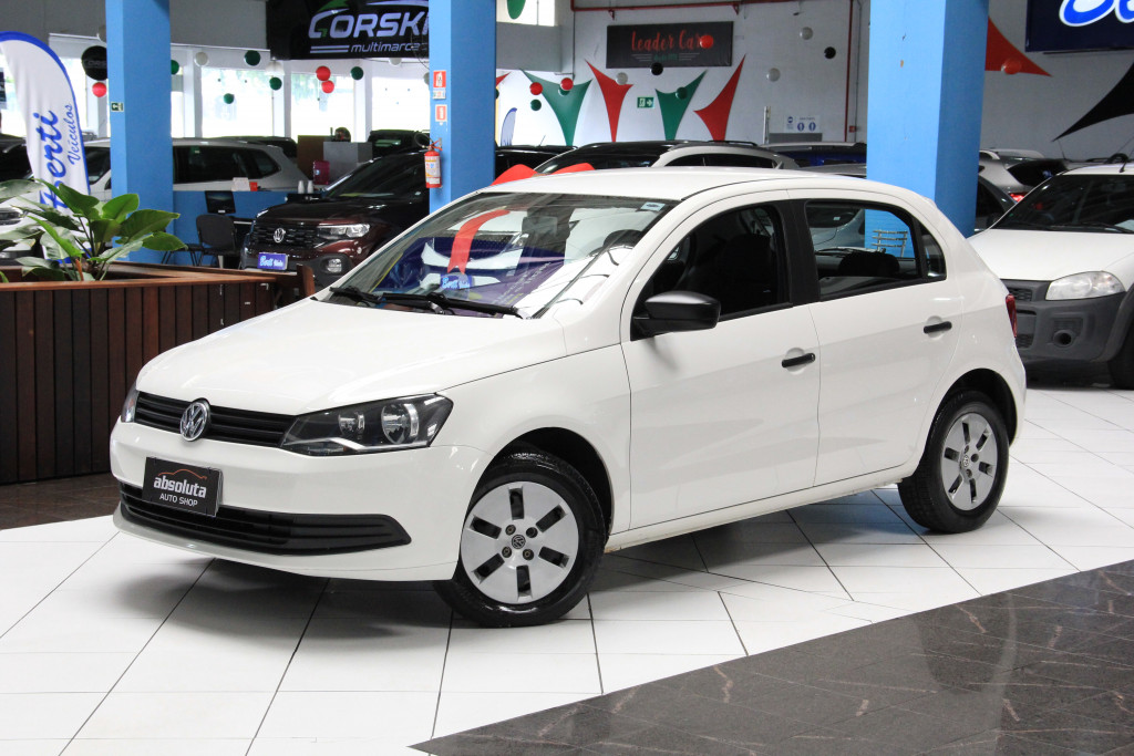 VOLKSWAGEN GOL 1.0 MI CITY 8V FLEX 4P MANUAL G.IV