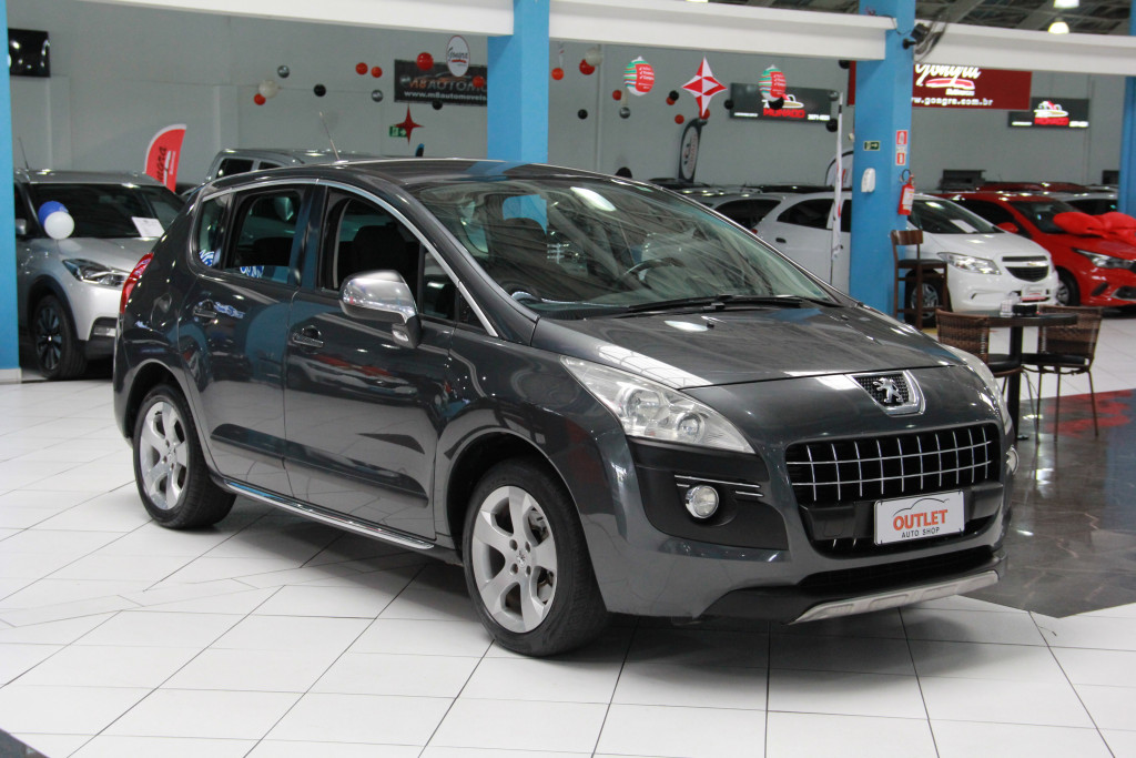 Imagem do veículo PEUGEOT 3008 1.6 allure thp 16v gasolina 4p automatico