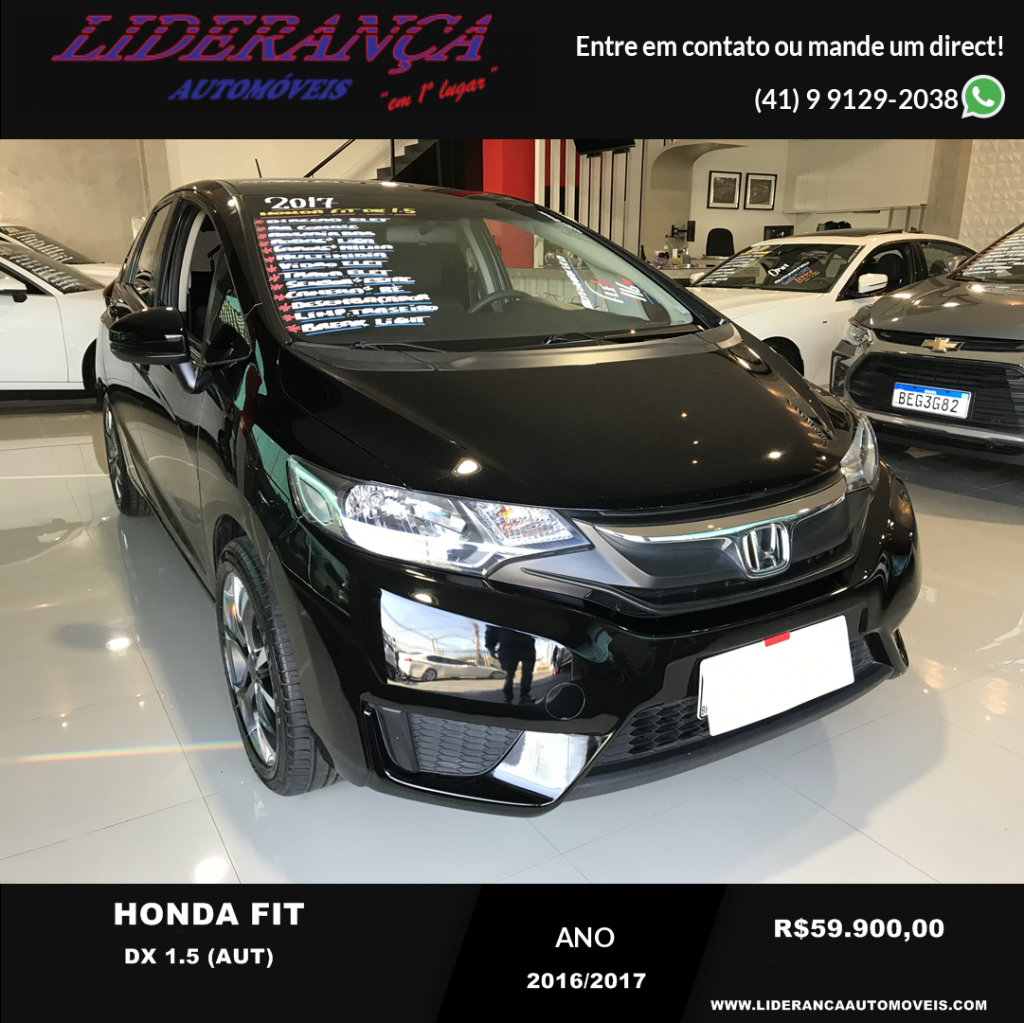 HONDA FIT DX 1.5 (AUT) (2017)