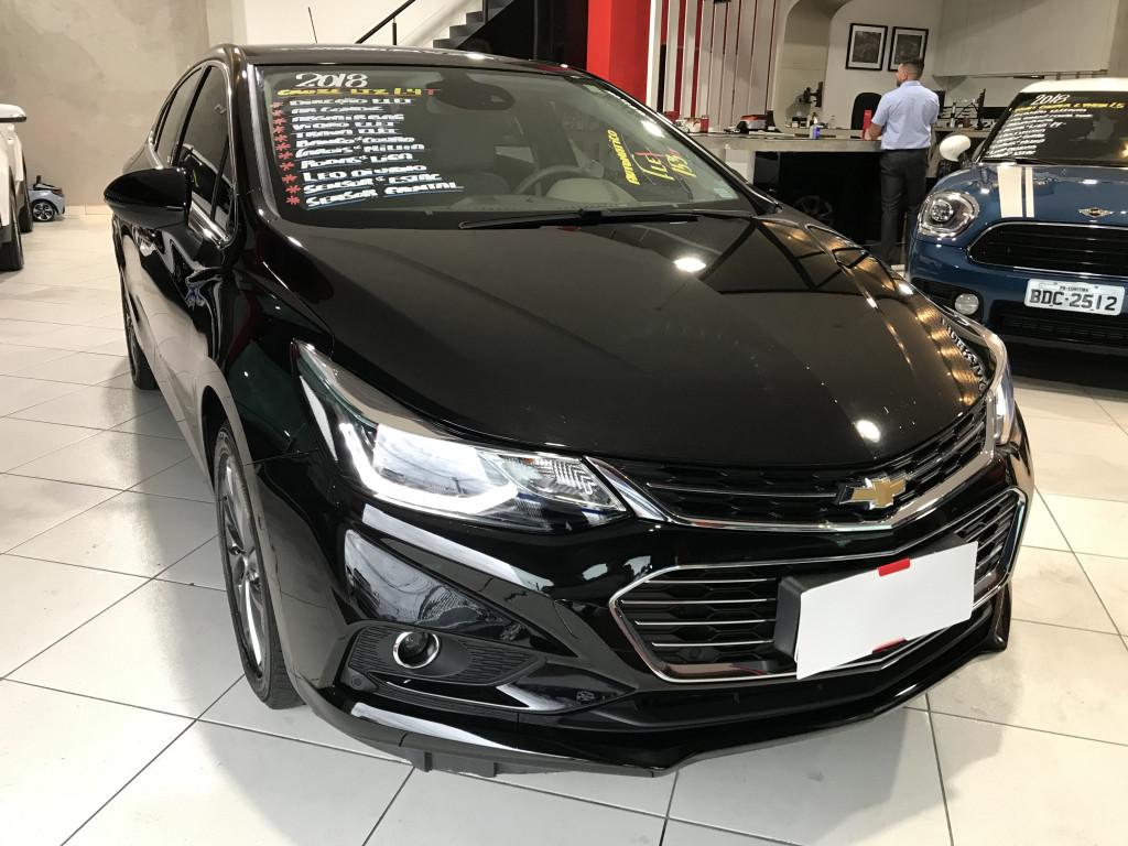 CHEVROLET CRUZE 1.4 TURBO LTZ 16V FLEX 4P AUTOMÁTICO (2018)