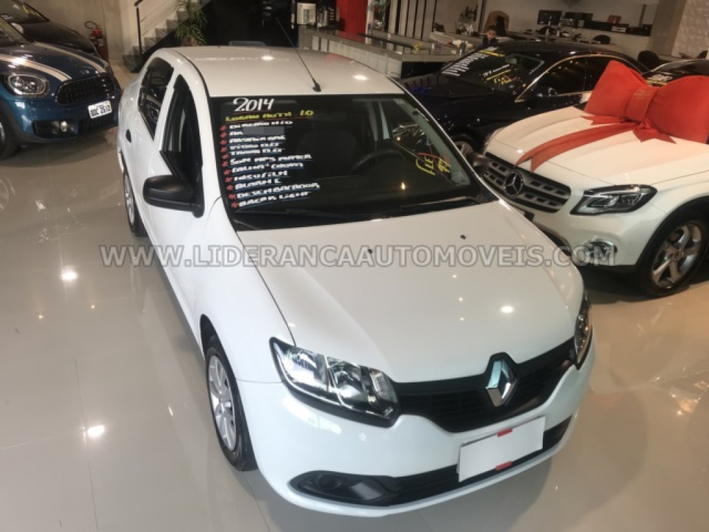 Imagem do veículo RENAULT LOGAN 1.0 AUTHENTIQUE PLUS 16V FLEX 4P MANUAL (2014)