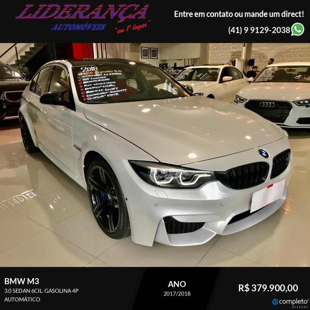 BMW M3 3.0 SEDAN 6CIL. GASOLINA 4P AUTOMÁTICO (431cv)