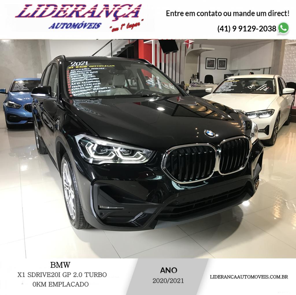 BMW X1 2.0  TURBO ACTIVEFLEX SDRIVE20I GP ZERO EMPLACADO