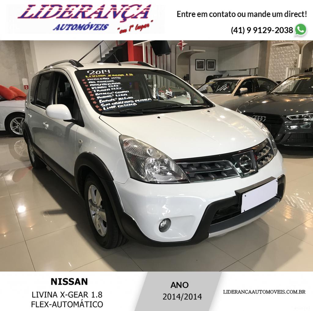 NISSAN LIVINA 1.8 SL X-GEAR 16V FLEX 4P AUTOMÁTICO COM (GNV)