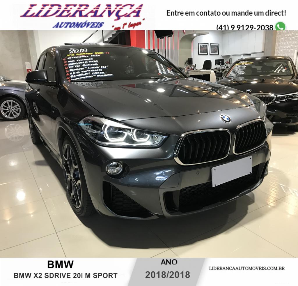 BMW X2 2.0 16V TURBO ACTIVEFLEX SDRIVE20I M SPORT X STEPTRONIC